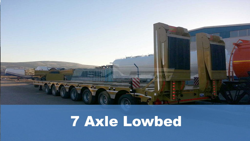 7 Axle Lowbed