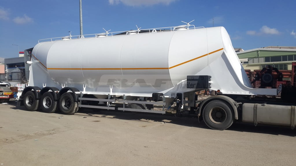 Aluminum Cement Trailer