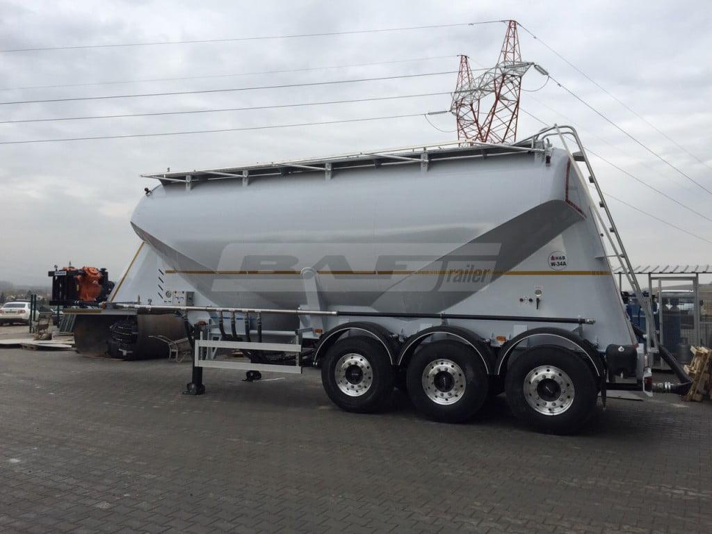 Euro Type (Millenium) Cement Trailer