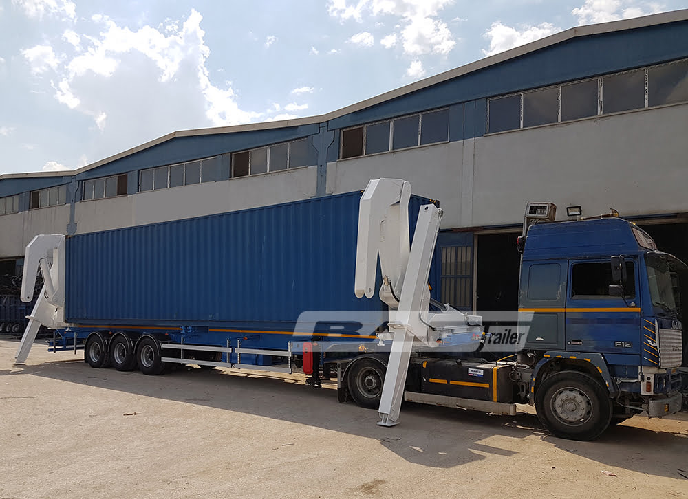 Self Loader Container Trailer