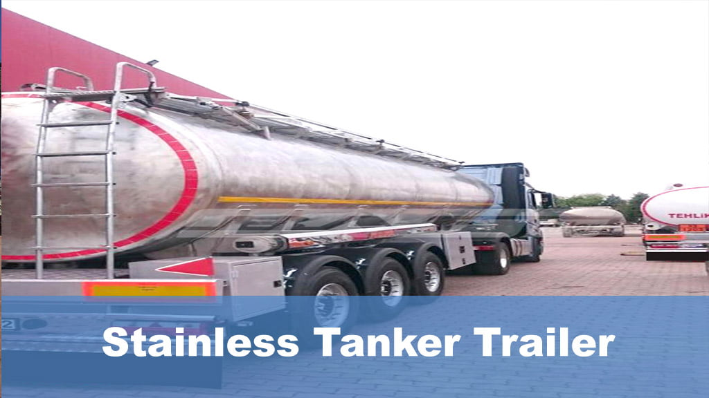Stainless Tanker Trailer