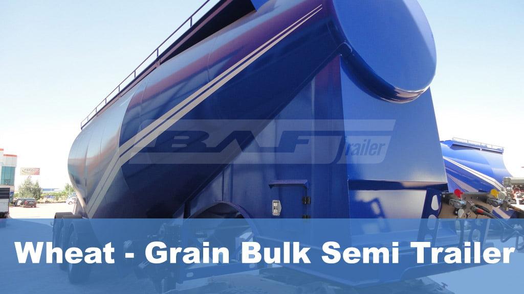 Wheat - Grain Bulk Semi Trailer