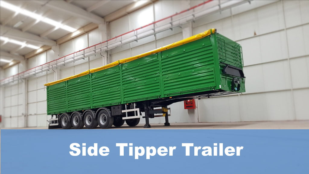 Side Tipper Trailer
