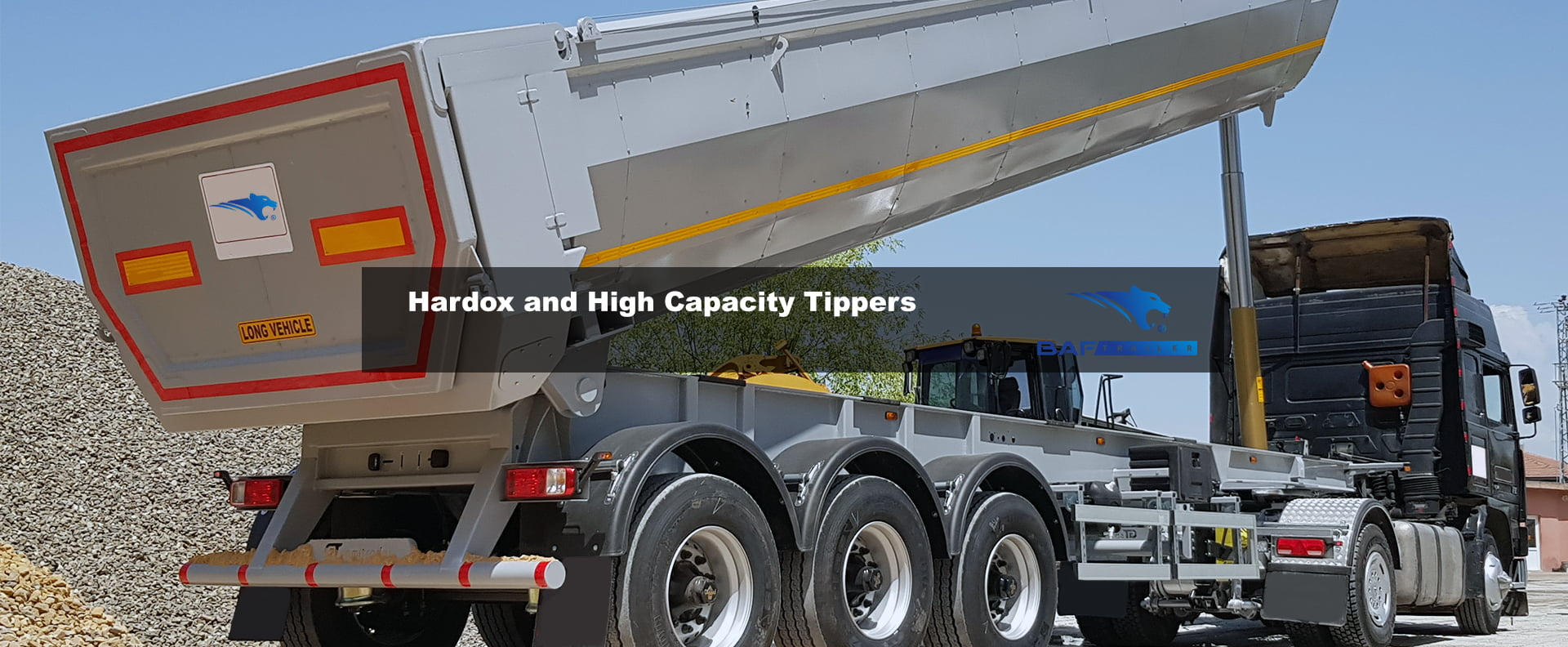 Hardox and High Capacity Tippers