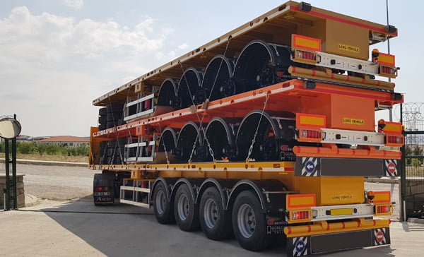 SEMI TRAILERS FOR AFRICA